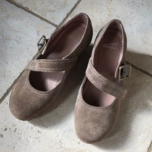 Dansko Mary Jane suede